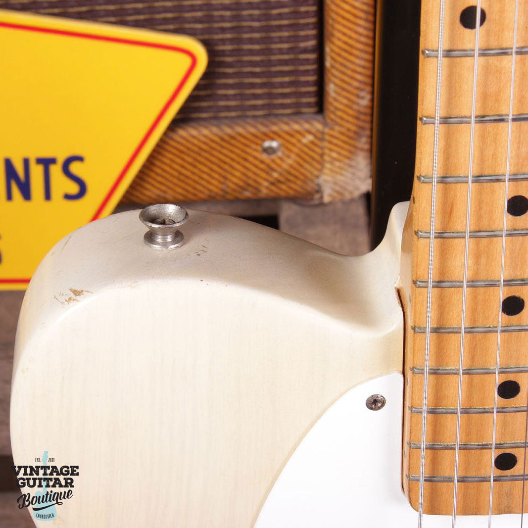 1957 Fender Telecaster - Blonde - Vintage Guitar Boutique - 6