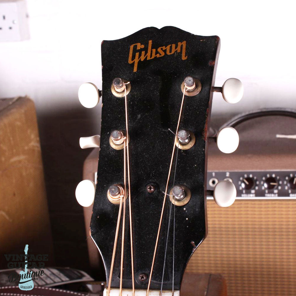 1957 Gibson LG-1 - Sunburst - Vintage Guitar Boutique - 7