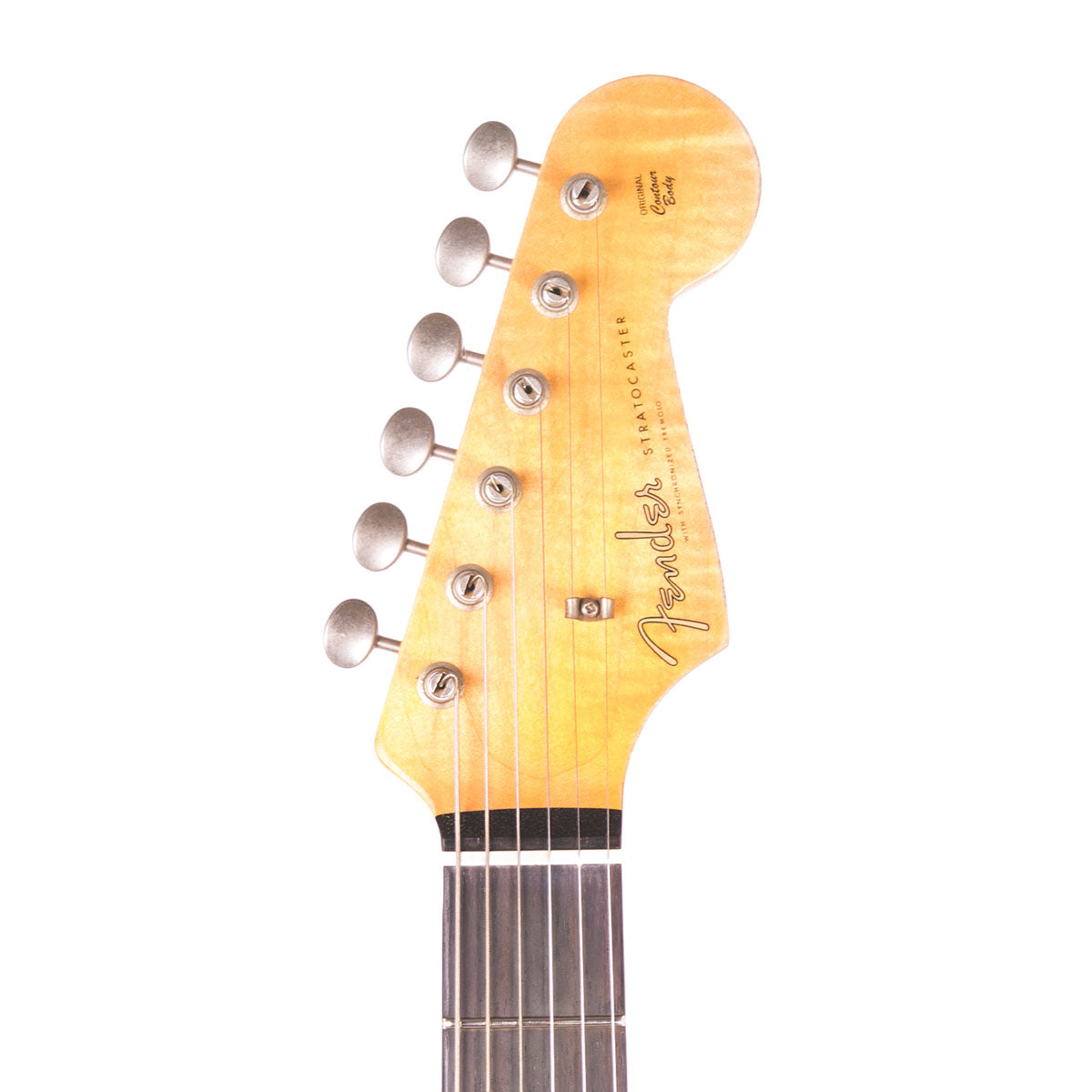 Fender Custom Shop Ltd NAMM 1960 Heavy Relic Stratocaster 3 Tone Sunburst - SALE PRICE | Lucky Fret Music Co.