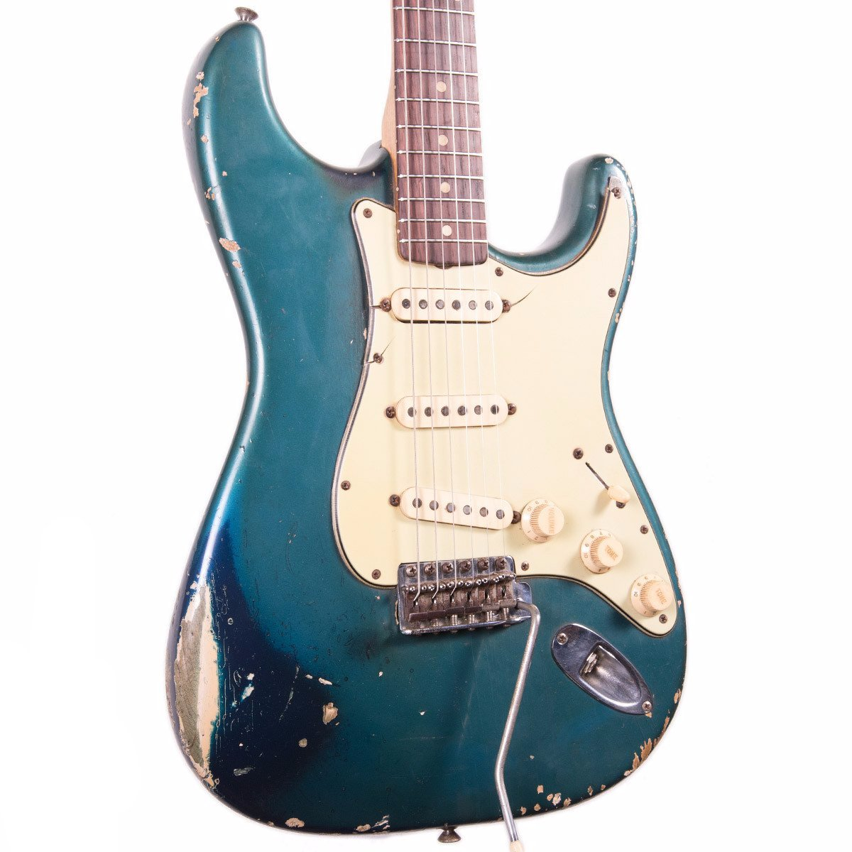 1963 Fender Stratocaster - Lake Placid Blue - Vintage Guitar Boutique