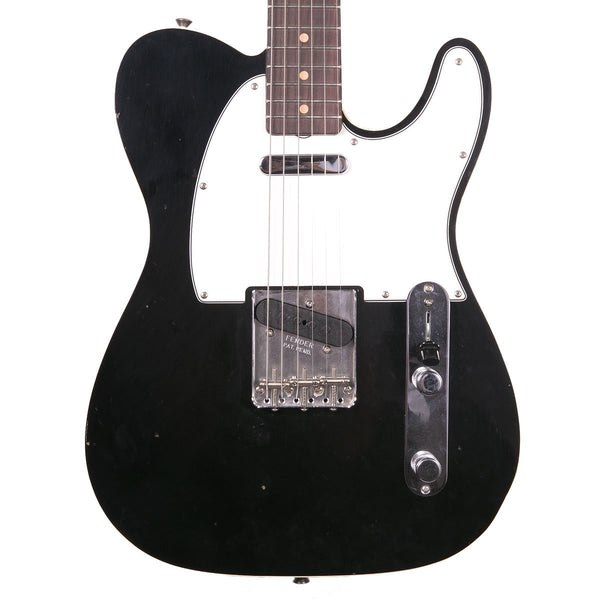 Fender Custom Shop 1963 Journeyman Relic Telecaster Custom Aged Black | Lucky Fret Music Co.