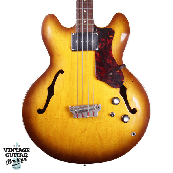 1964 Epiphone Rivoli Bass - Sunburst - Vintage Guitar Boutique - 1