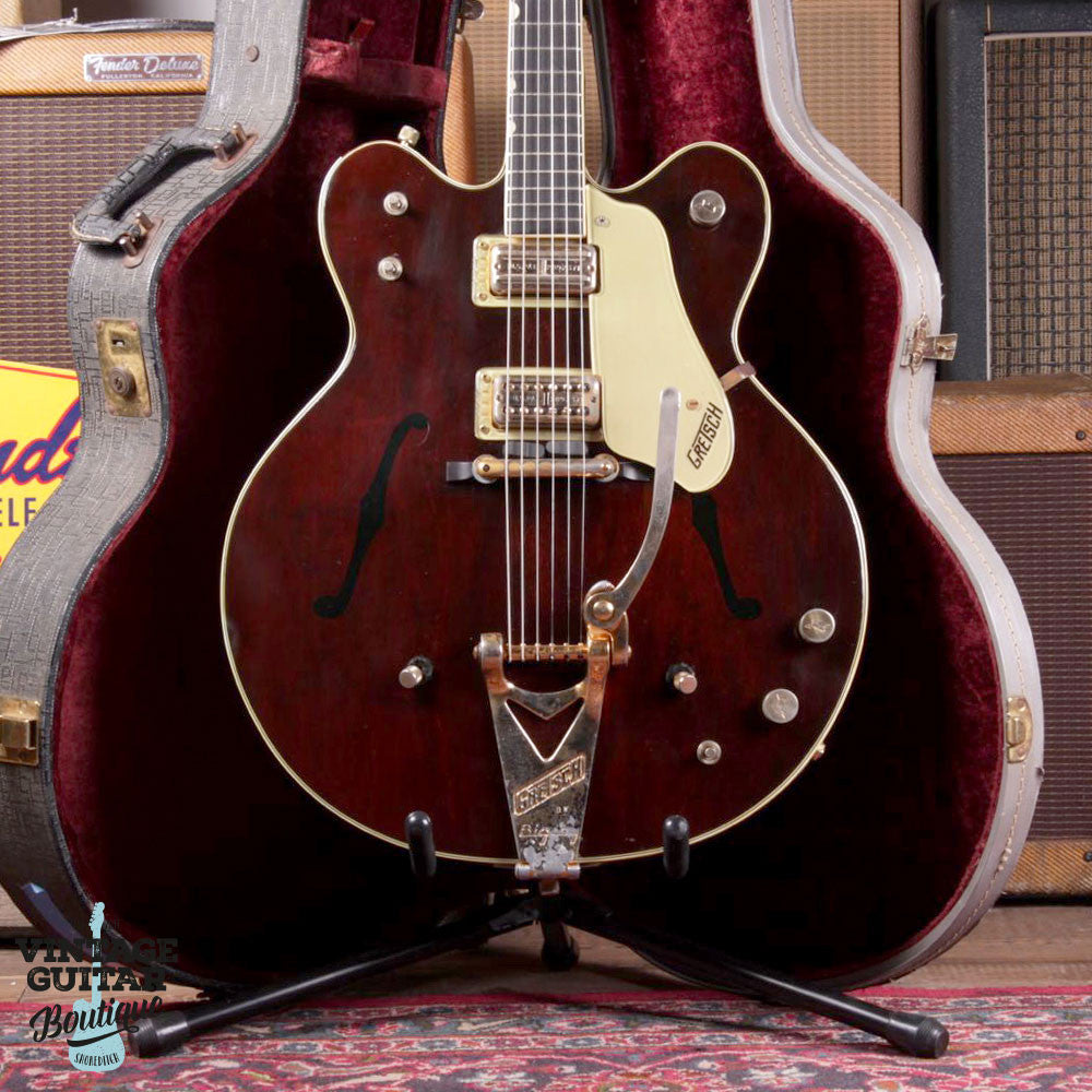 1964 Gretsch Country Gentleman - Walnut - Vintage Guitar Boutique - 3
