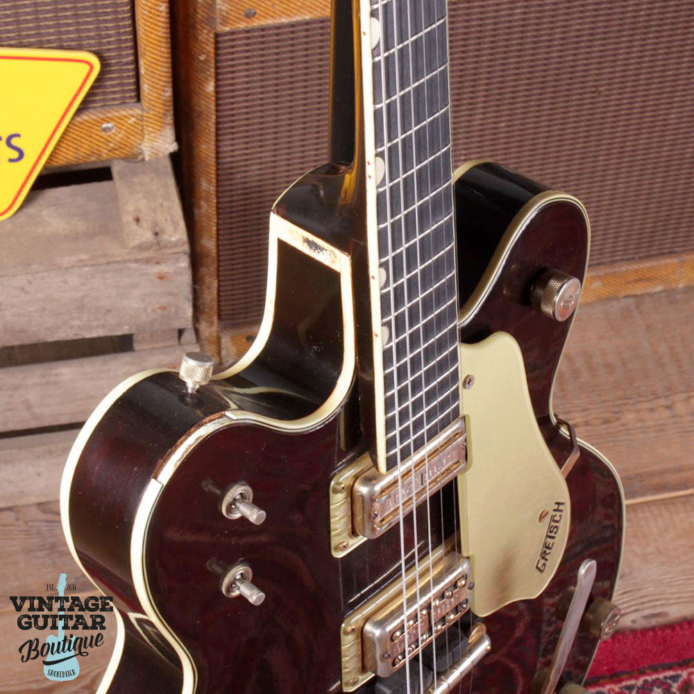 1964 Gretsch Country Gentleman - Walnut - Vintage Guitar Boutique - 6