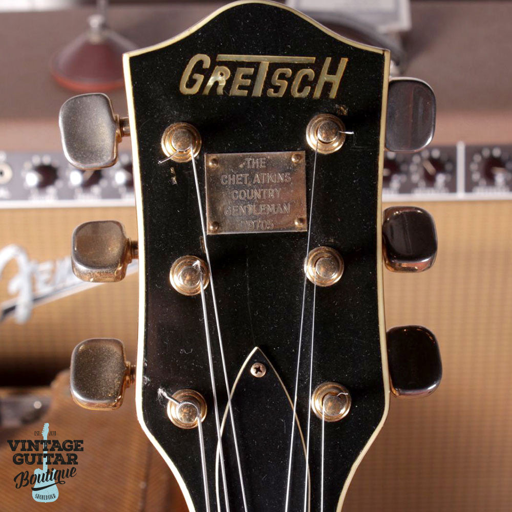 1964 Gretsch Country Gentleman - Walnut - Vintage Guitar Boutique - 9
