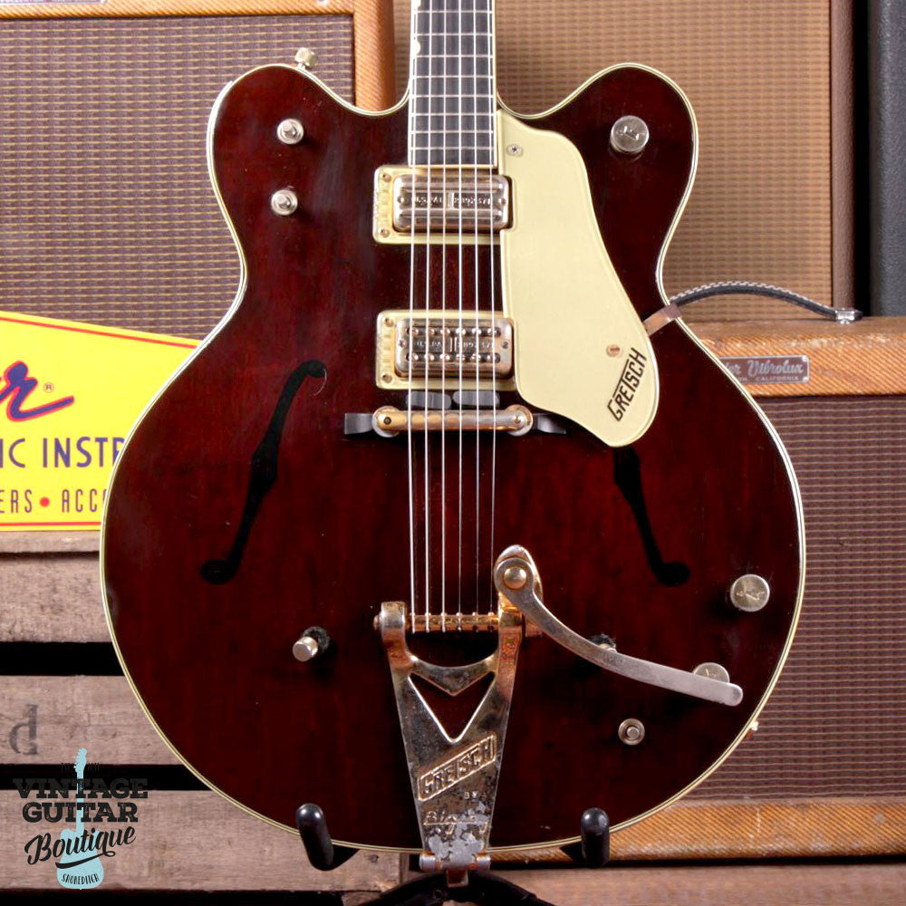 1964 Gretsch Country Gentleman - Walnut - Vintage Guitar Boutique - 2