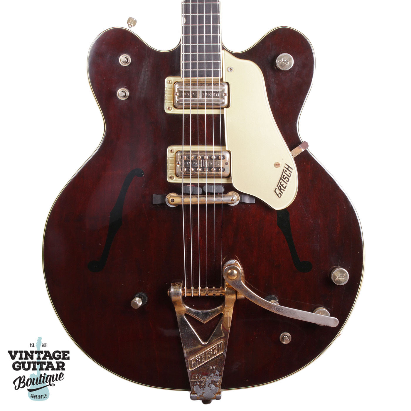 1964 Gretsch Country Gentleman - Walnut - Vintage Guitar Boutique - 1