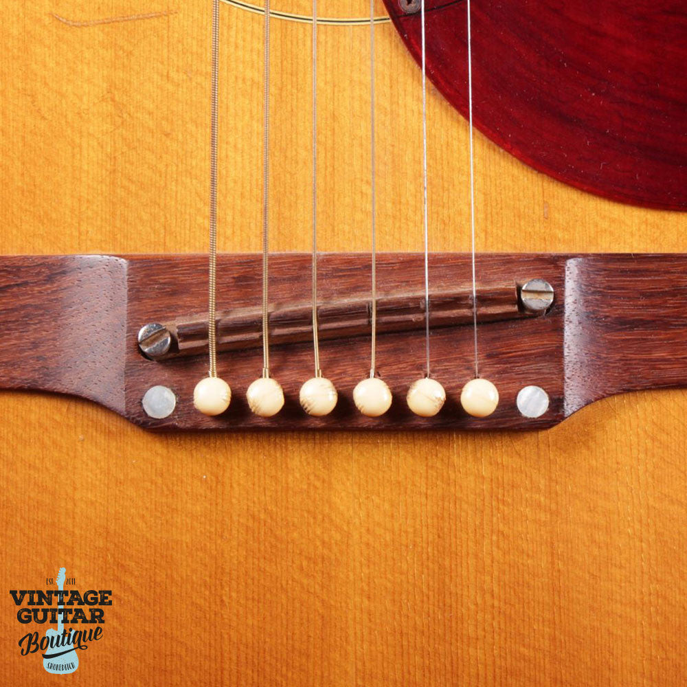 1965 Gibson Country & Western SJN - Natural - Vintage Guitar Boutique - 5