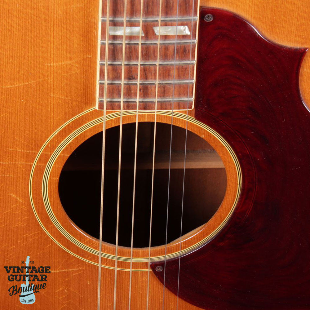 1965 Gibson Country & Western SJN - Natural - Vintage Guitar Boutique - 7