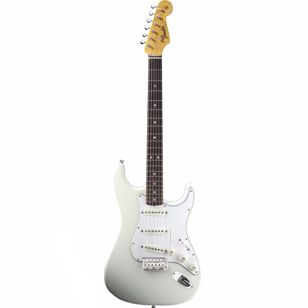 Fender American Vintage '65 Stratocaster - Rosewood - Olympic White - Vintage Guitar Boutique - 2