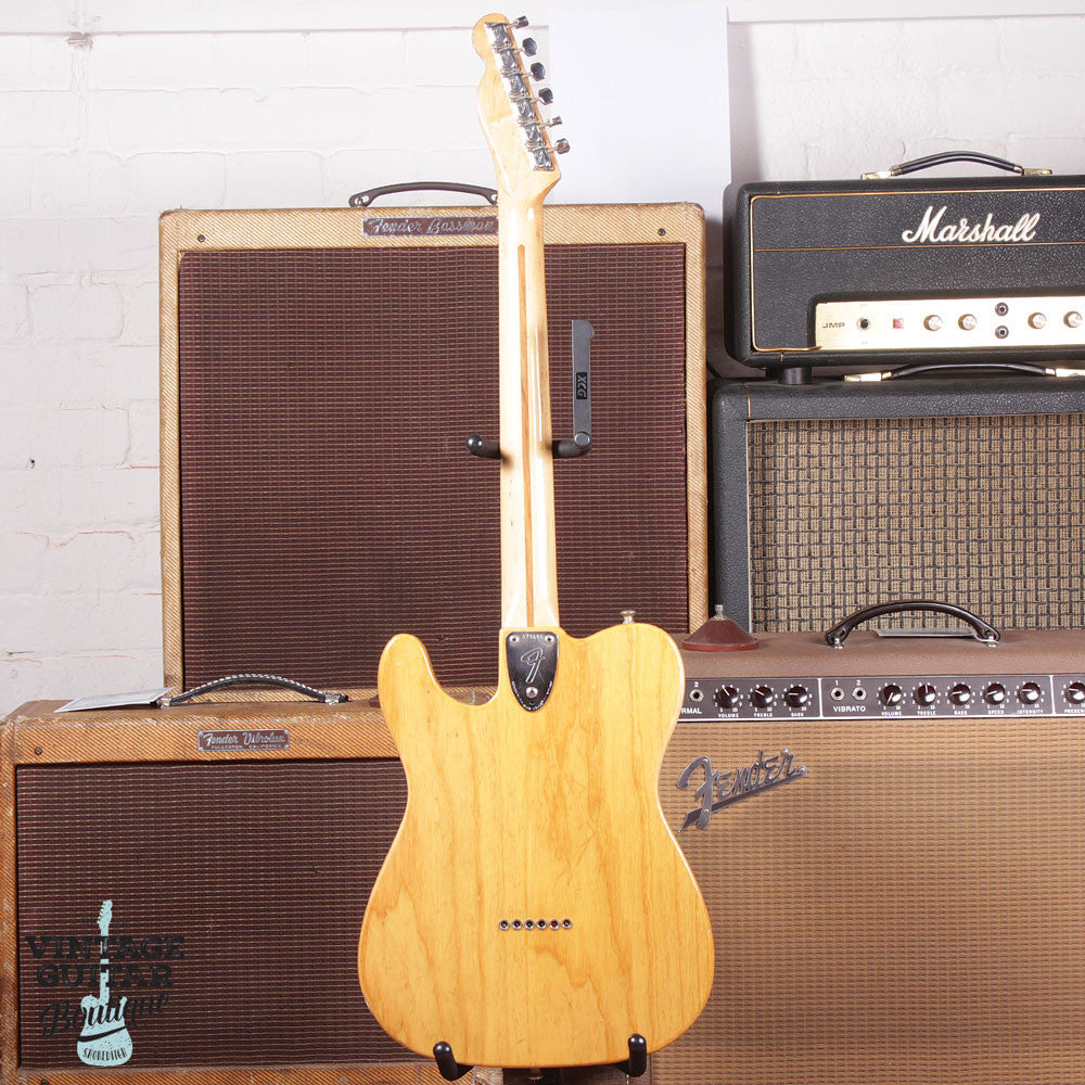1972 Fender Telecaster Type II Thinline - Natural - Vintage Guitar Boutique - 6