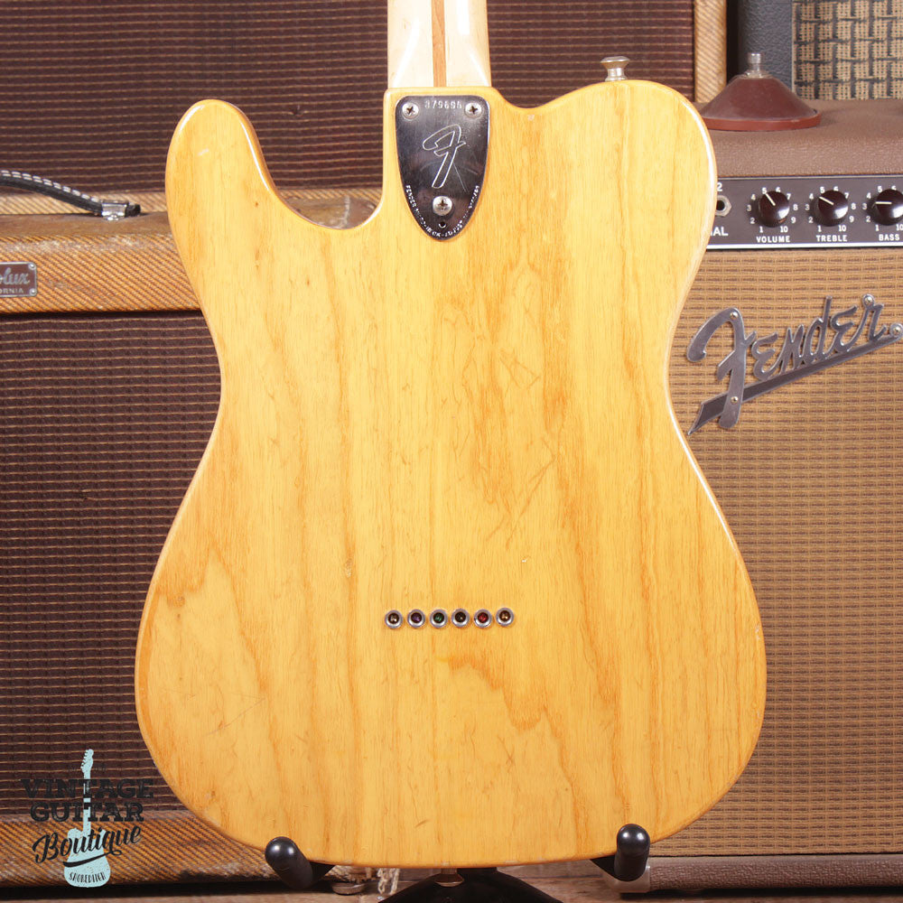 1972 Fender Telecaster Type II Thinline - Natural - Vintage Guitar Boutique - 7