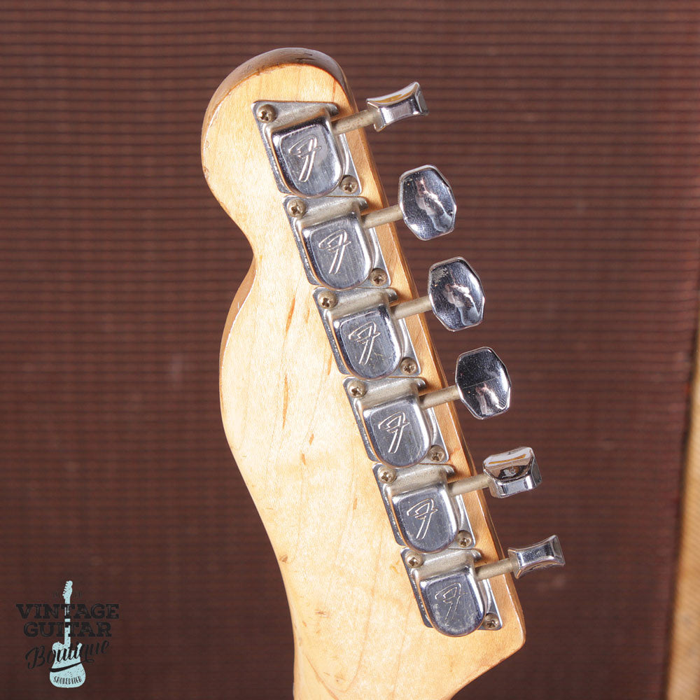 1972 Fender Telecaster Type II Thinline - Natural - Vintage Guitar Boutique - 9