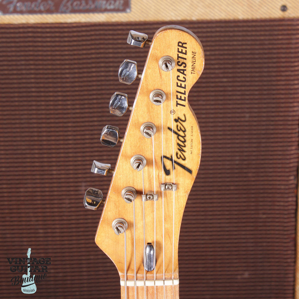 1972 Fender Telecaster Type II Thinline - Natural - Vintage Guitar Boutique - 5