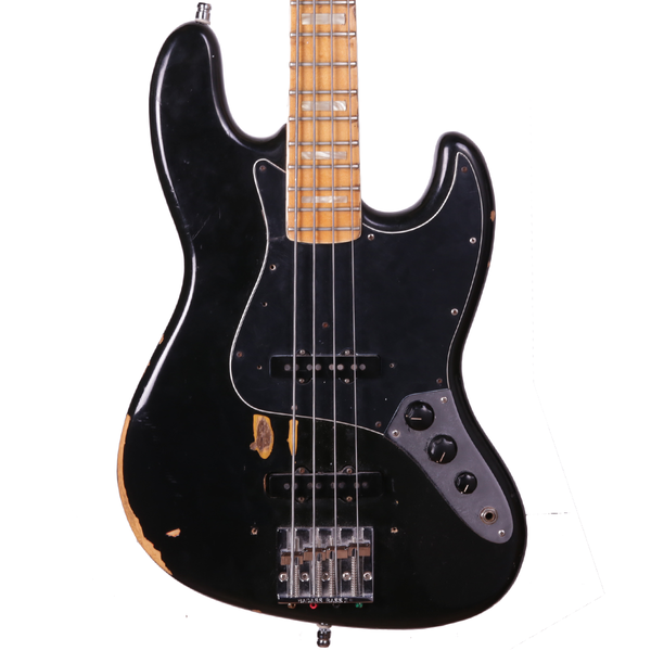 1975 Fender Jazz Bass - Black (refin)