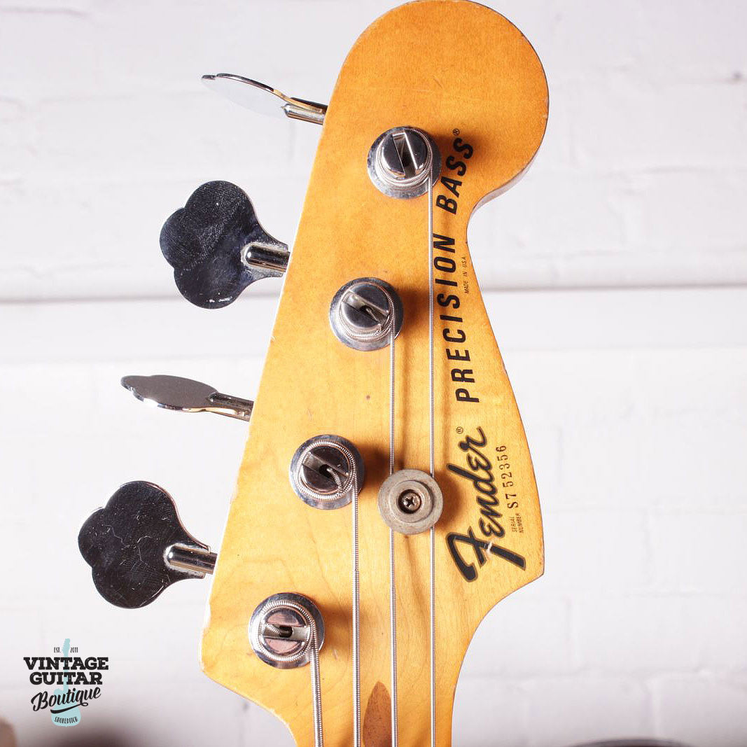 1977 Fender Precision Bass - Olympic White - Vintage Guitar Boutique - 8