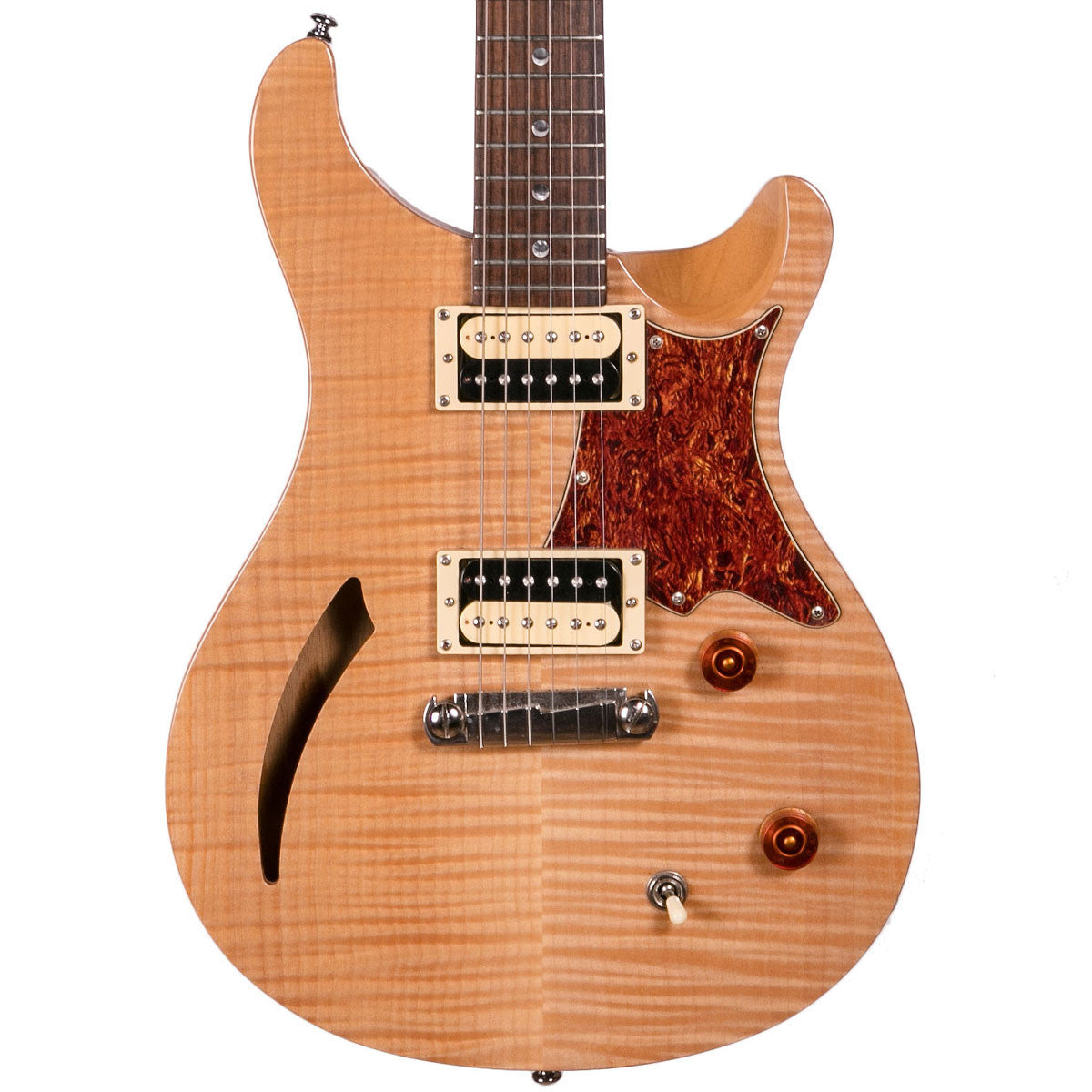 2009 PRS SE Custom Semi Hollow - Natural | Lucky Fret Music Co.