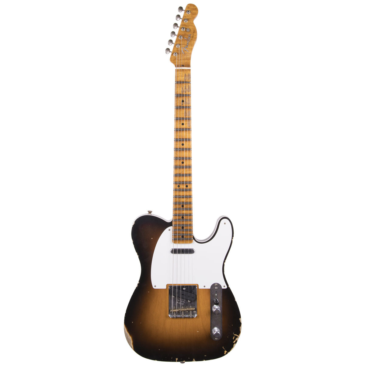 "Fender Custom Shop 2018 Ltd Relic Double Esquire ""Special"" Wide Fade 2 Color Sunburst 