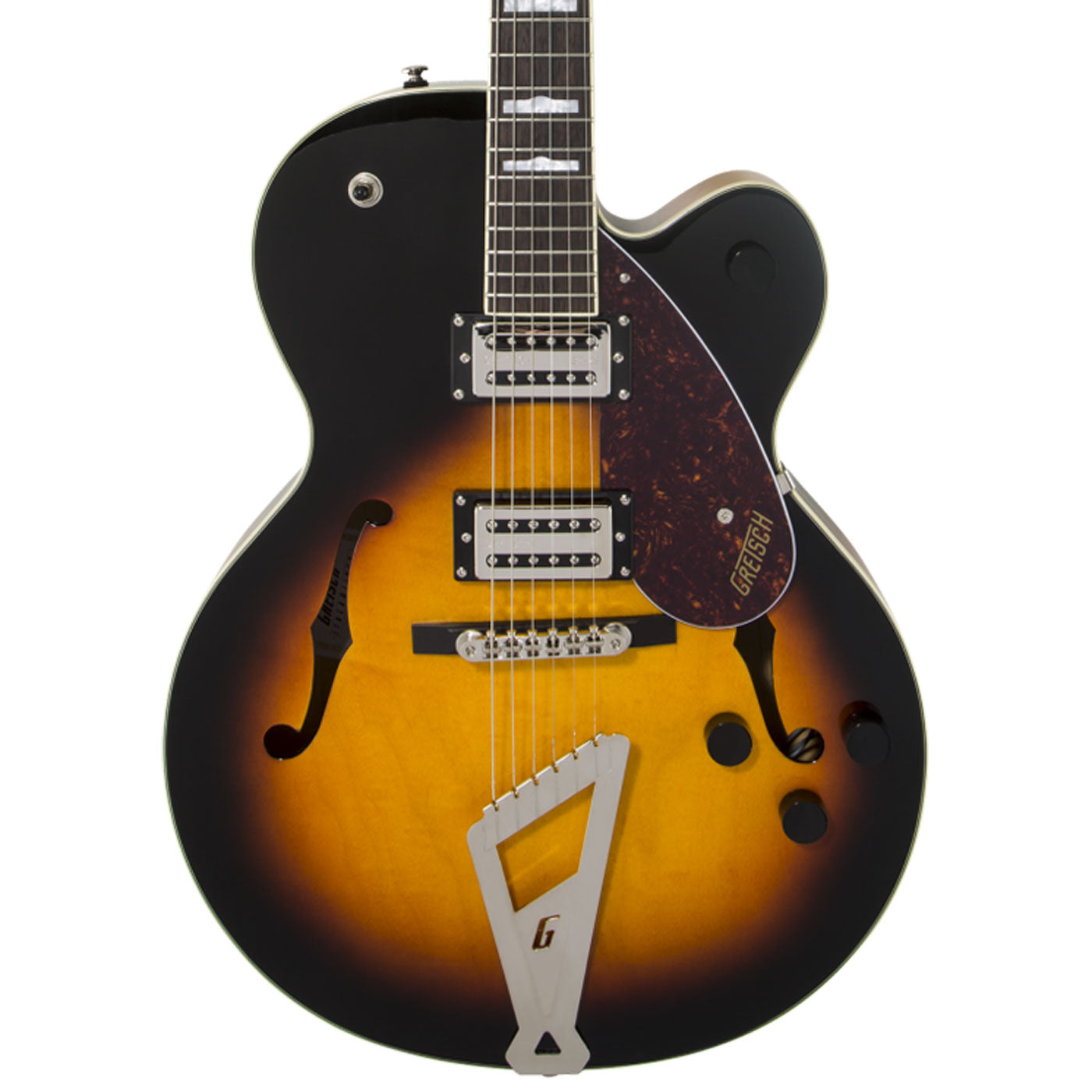 Gretsch G2420 Hollow Single Cut, Aged Brooklyn Burst