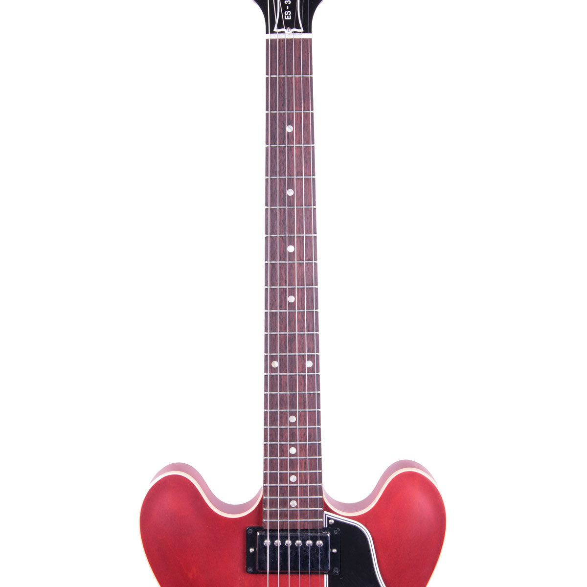2008 Gibson ES-335 - Satin Cherry | Lucky Fret Music Co.