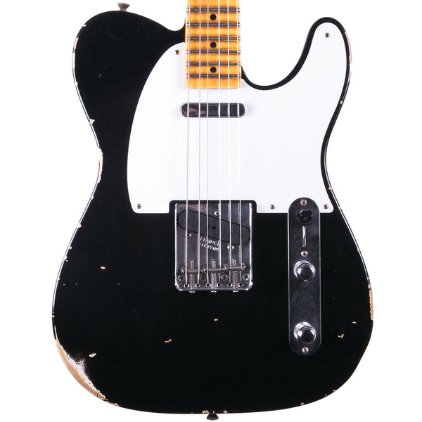 Fender Custom Shop 2018 Relic 1954 Telecaster Aged Black