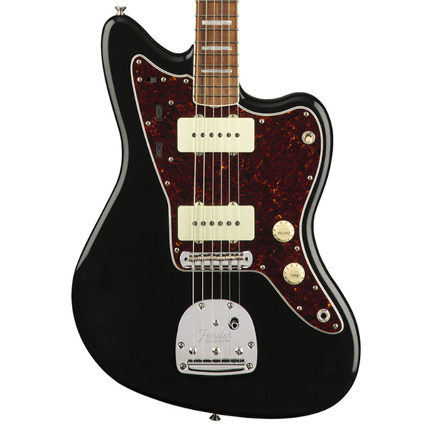 Fender 60th Anniversary Jazzmaster, Pau Ferro - Black | Lucky Fret Music Co.