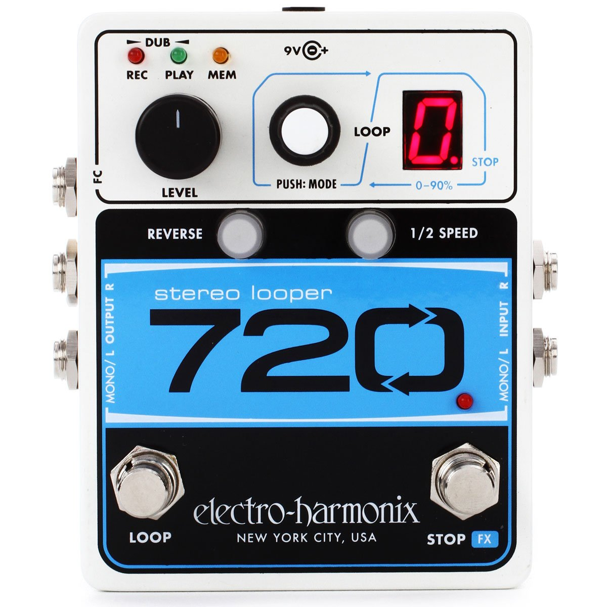 Electro Harmonix - 720 Stereo Looper (PSU Included) | Lucky Fret Music Co.