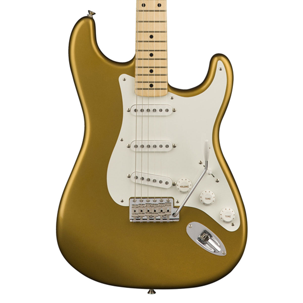 Fender American Original '50s Stratocaster, Maple Fingerboard - Aztec Gold | Lucky Fret Music Co.