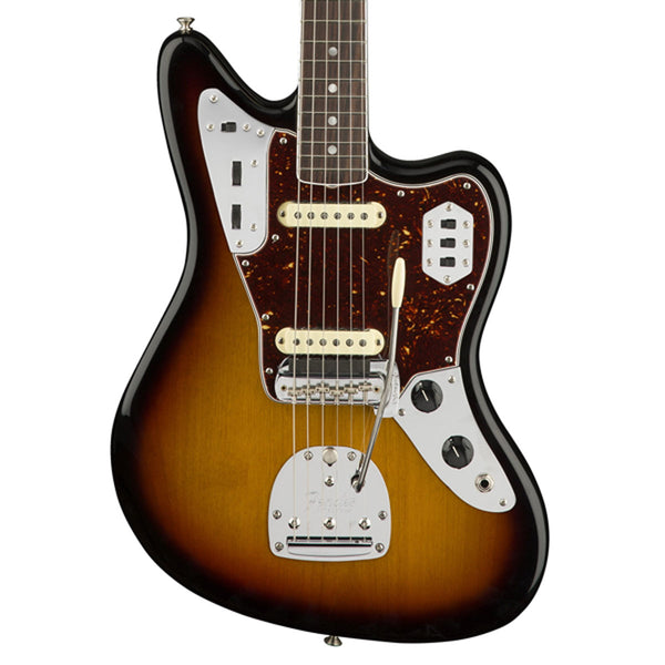 Fender American Original '60s Jaguar, Rosewood Fingerboard - 3-Color Sunburst | Lucky Fret Music Co.