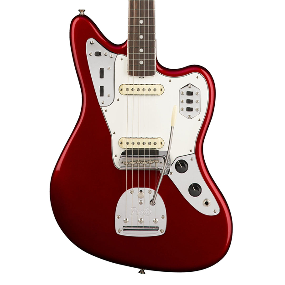 Fender American Original '60s Jaguar, Rosewood Fingerboard - Candy Apple Red | Lucky Fret Music Co.