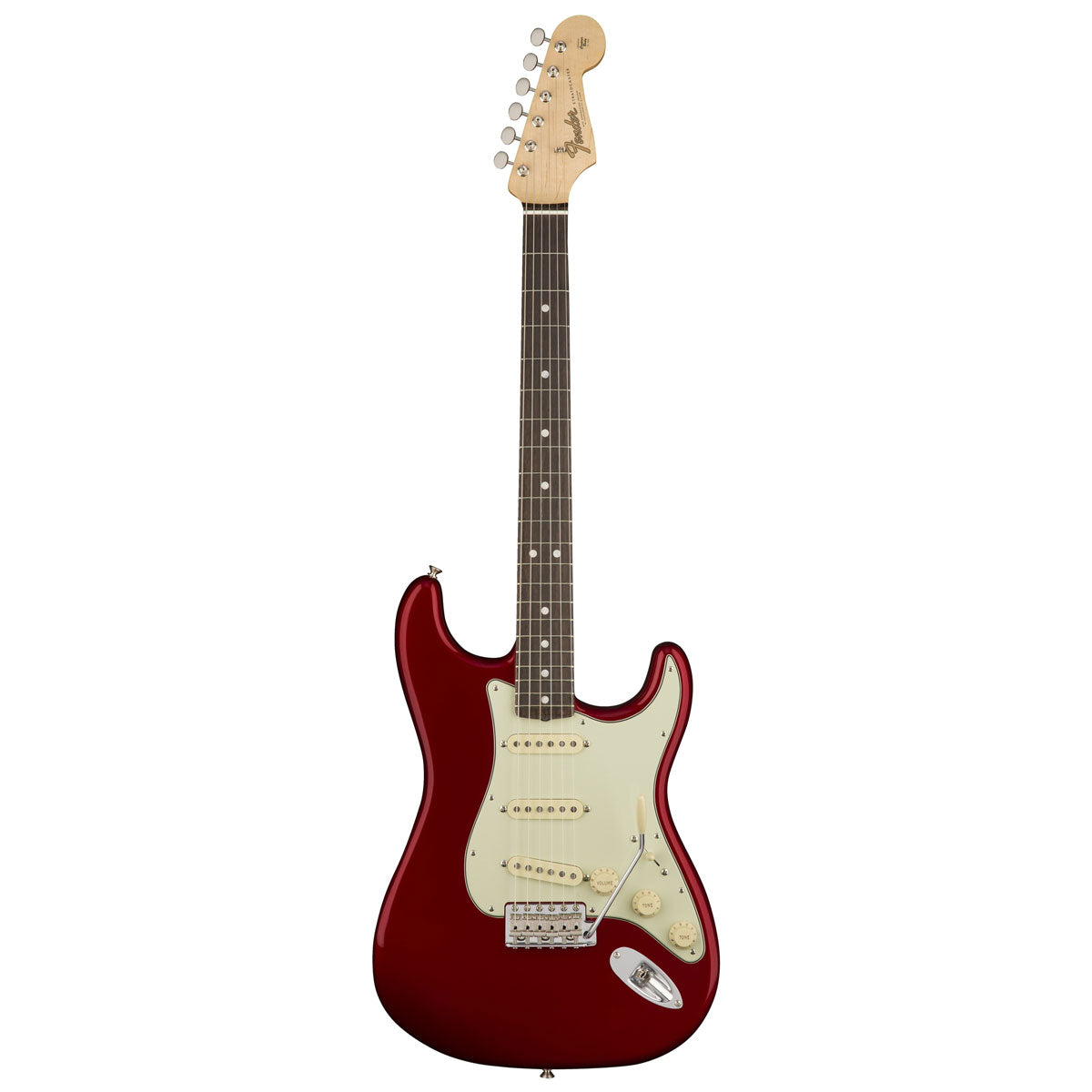 Fender American Original '60s Stratocaster, Rosewood Fingerboard - Candy Apple Red | Lucky Fret Music Co.