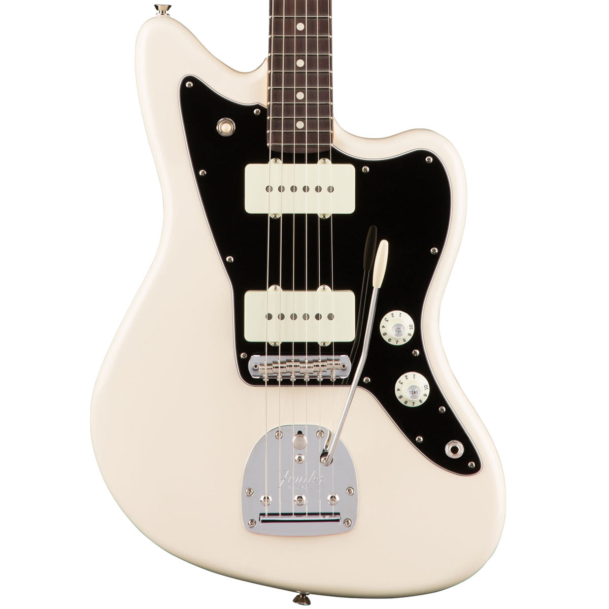 Fender American Pro Jazzmaster - Rosewood - Olympic White | Lucky Fret Music Co.