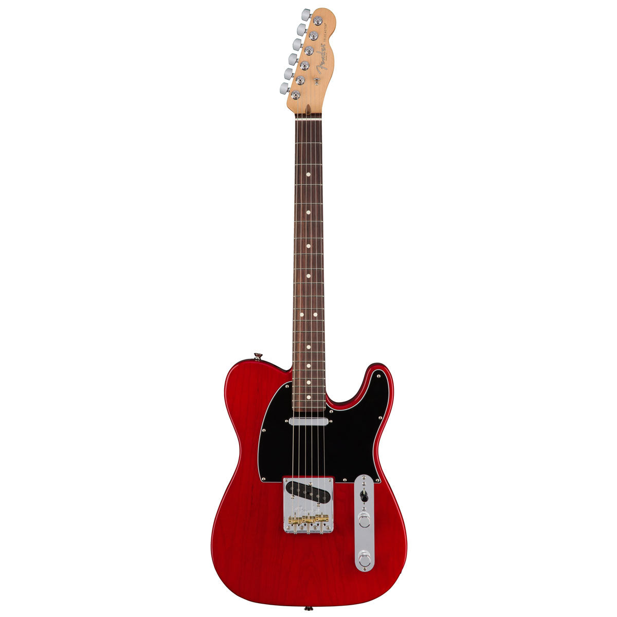 Fender American Pro Telecaster - Rosewood - Crimson Red (Transparent) | Lucky Fret Music Co.