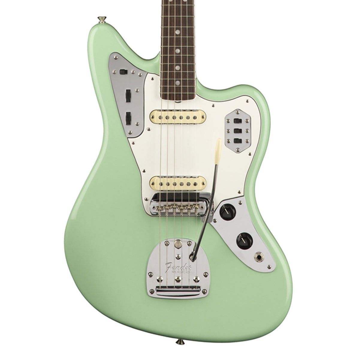 Fender American Original '60s Jaguar, Rosewood Fingerboard - Surf Green | Lucky Fret Music Co.