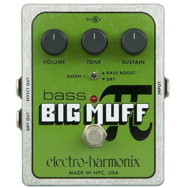 Electro Harmonix - Bass Big Muff Pi - Distortion/Sustainer | Lucky Fret Music Co.