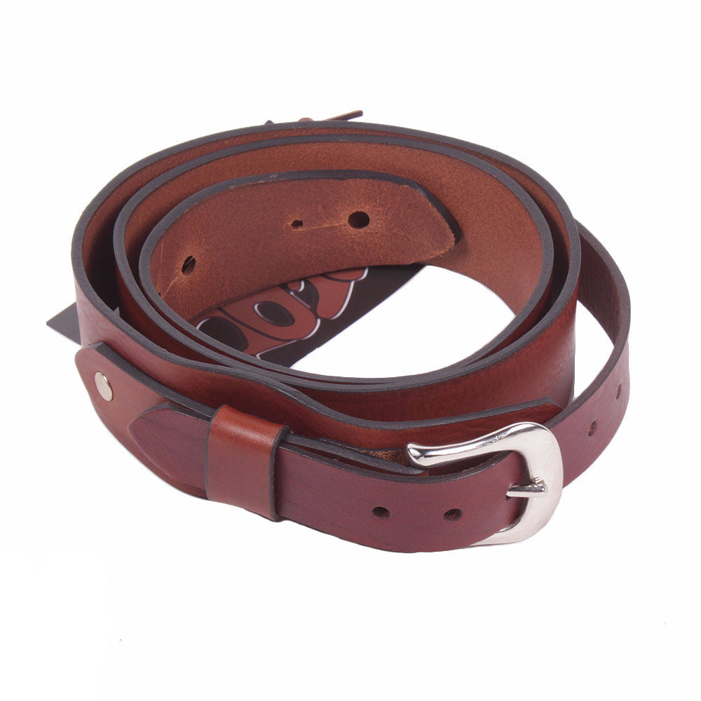Bear Straps - Classic #8 - Brown/Chrome - Vintage Guitar Boutique