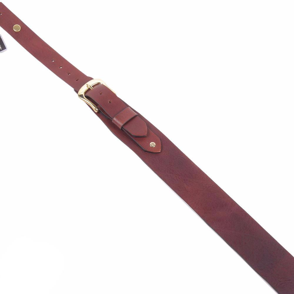 Bear Straps - Classic No. 8 - Brown/Gold - Vintage Guitar Boutique - 2