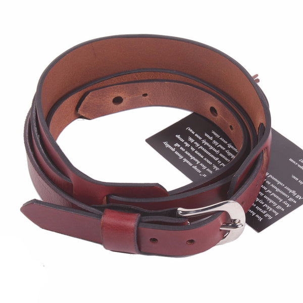 Bear Straps - Slim Padded with Buckle - Brown/Chrome - Vintage Guitar Boutique - 1