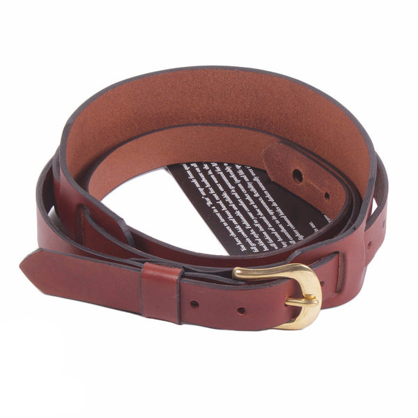 Bear Straps - Slim Padded with Buckle - Brown/Gold - Vintage Guitar Boutique - 1