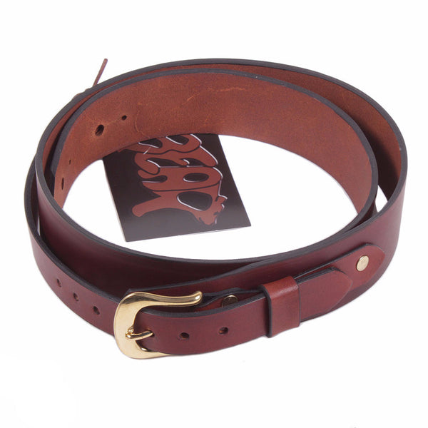 Bear Straps Slimline Classic - Brown/Gold - Vintage Guitar Boutique