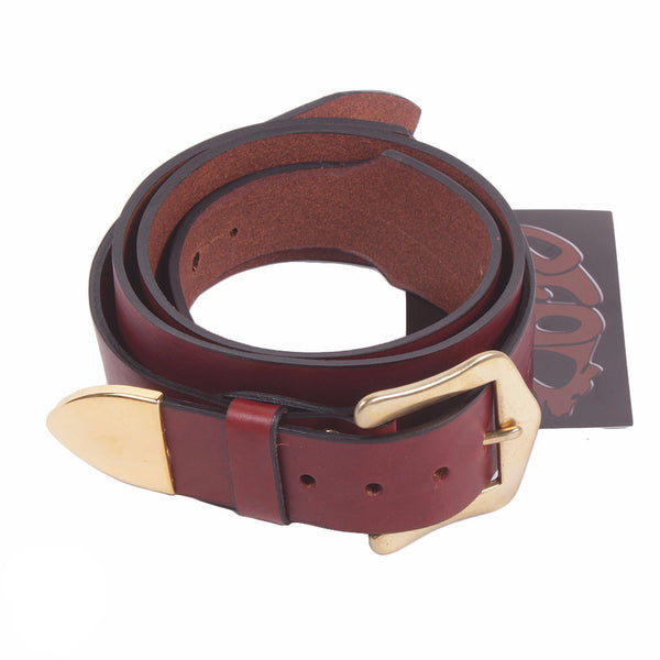 Bear Straps - Western Classic - Brown/Gold - Vintage Guitar Boutique