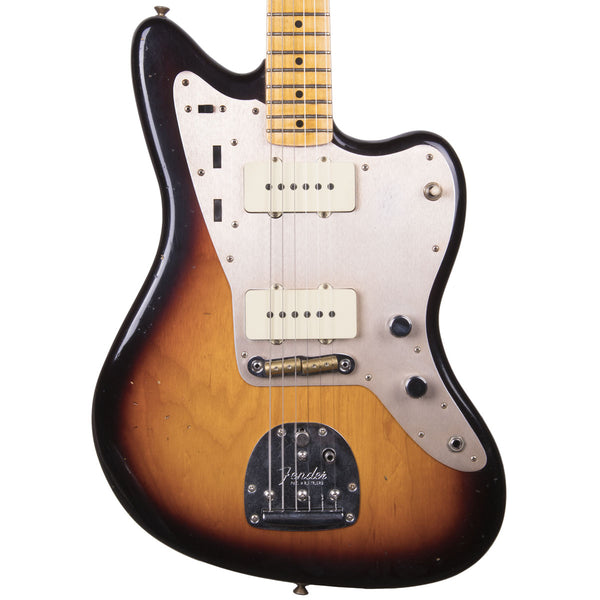 Fender Custom Shop 2018 Journeyman Relic 50's Jazzmaster Faded 3 Color Sunburst