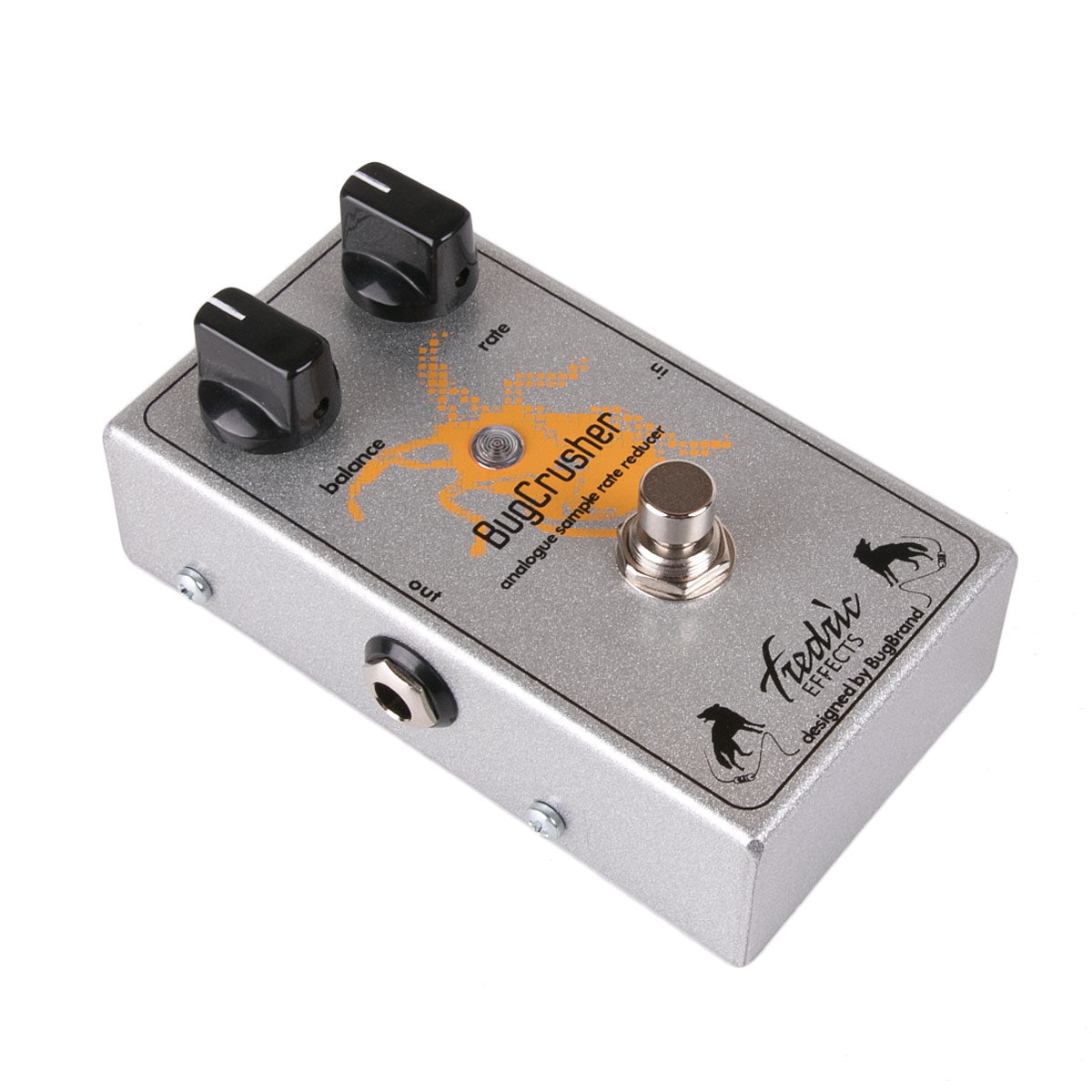 Fredric Effects BugCrusher Sample Rate Reducer | Lucky Fret Music Co.
