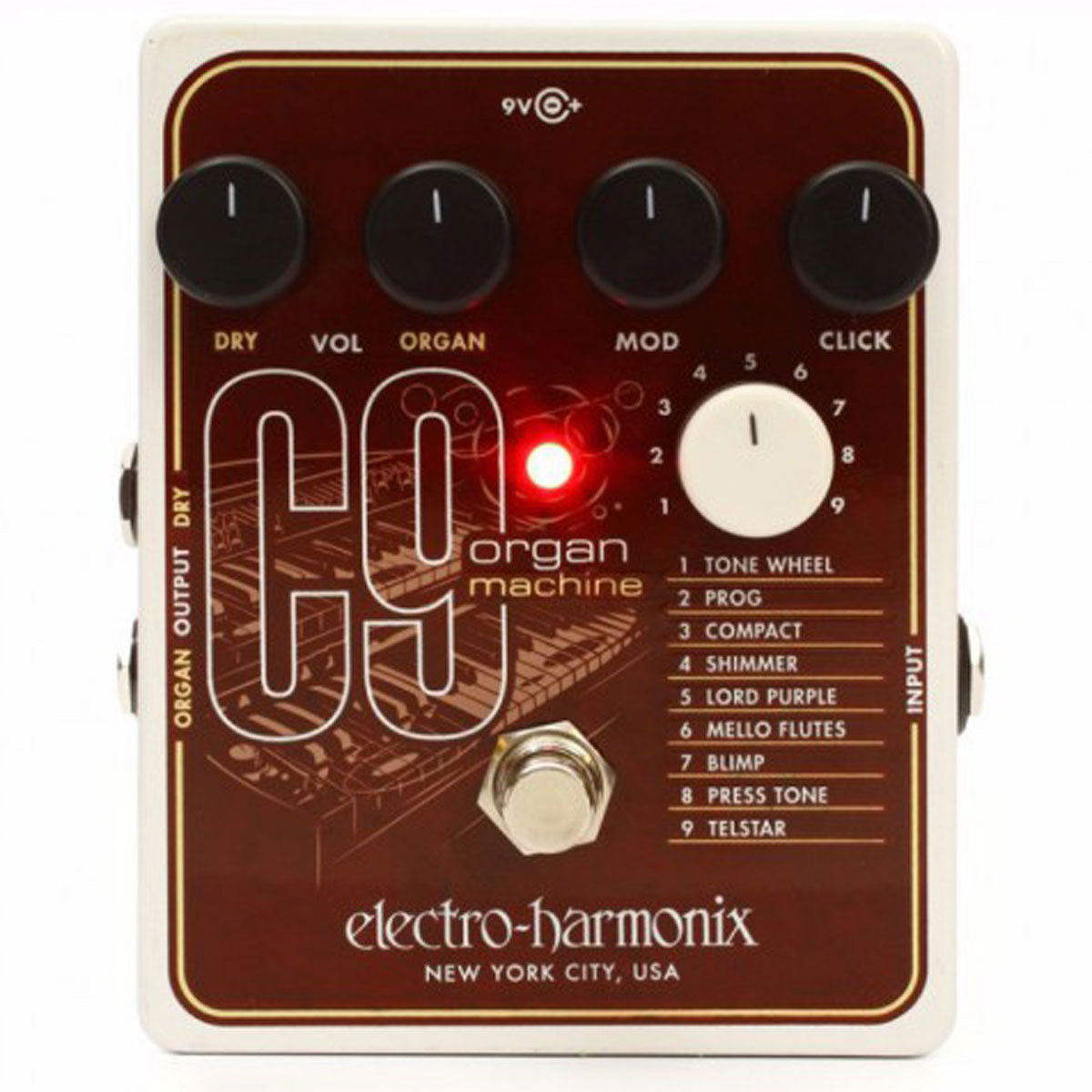 Electro Harmonix - C9 - Organ Machine (PSU Included) | Lucky Fret Music Co.