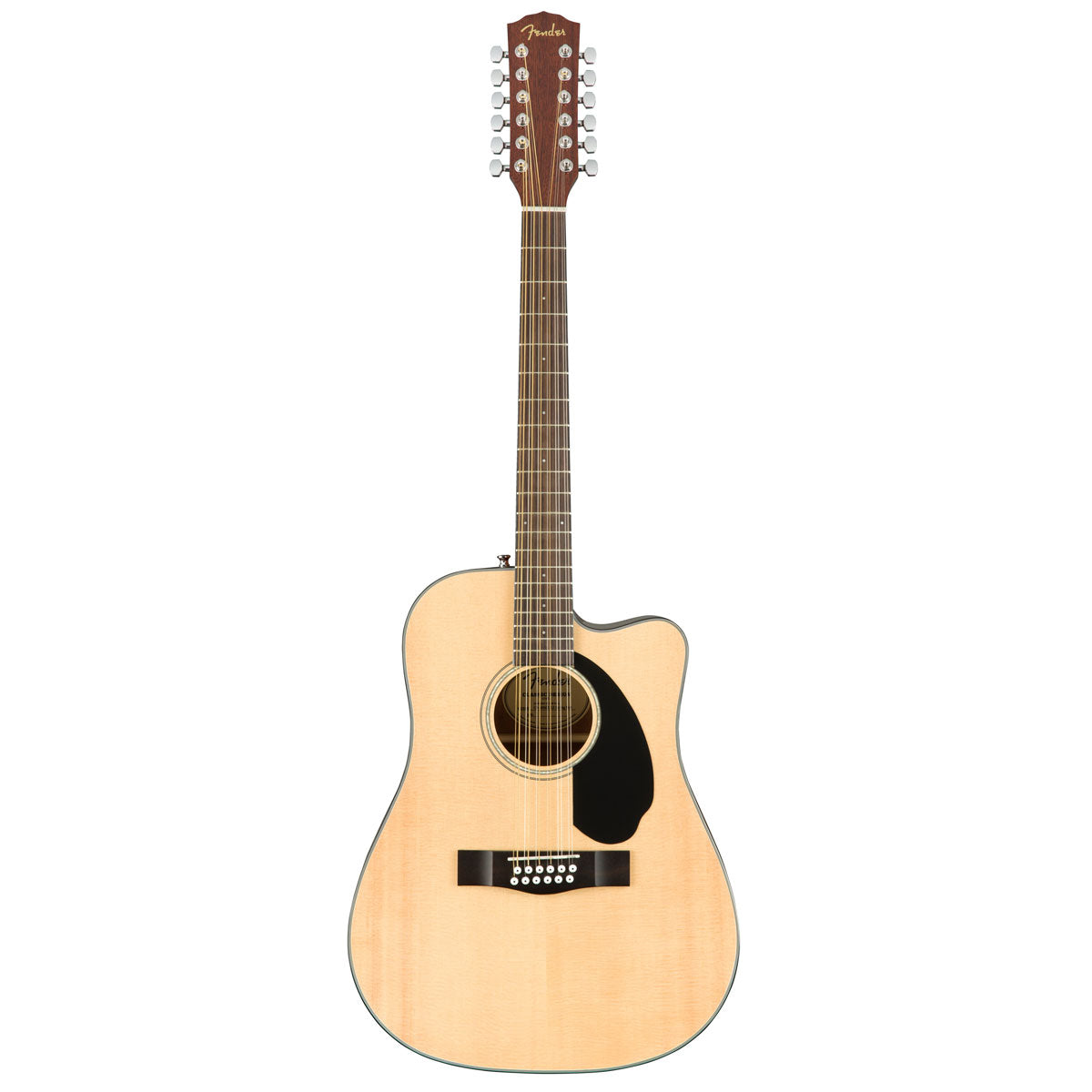 Fender CD-60SCE 12-String Natural | Lucky Fret Music Co.