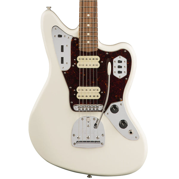 Fender Classic Player Jaguar Special HH, Pau Ferro Fingerboard, Olympic White | Lucky Fret Music Co.