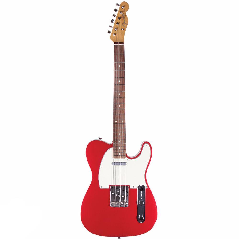 Fender '62 Telecaster Custom - Bound Edge - Rosewood - Candy Apple Red - Vintage Guitar Boutique - 2