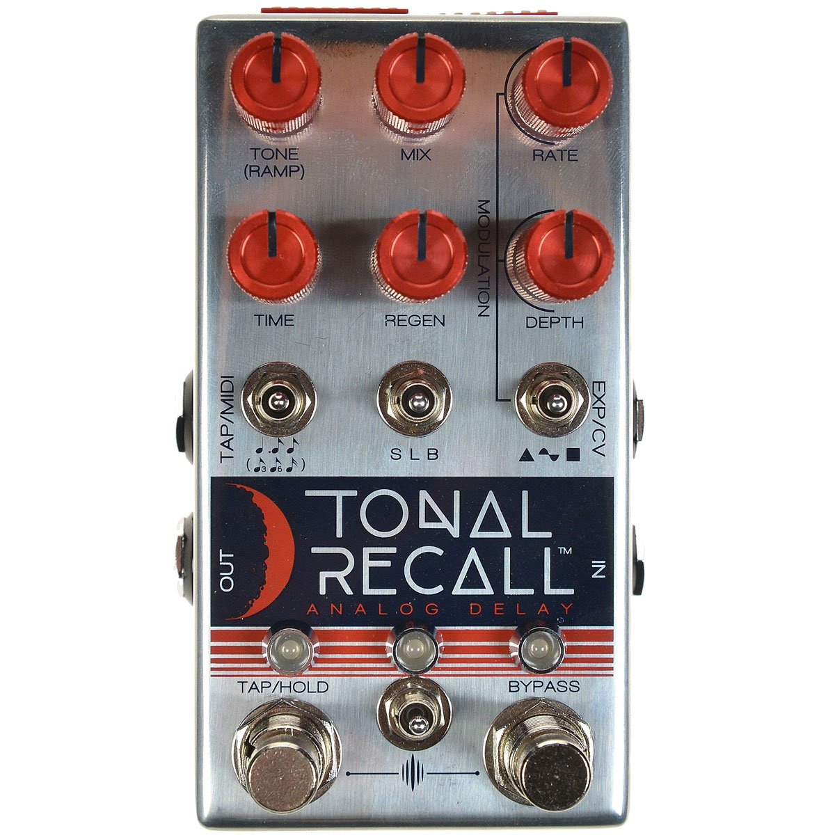 Chase Bliss Audio Tonal Recall Red Knob Model Analog Delay | Lucky Fret Music Co.