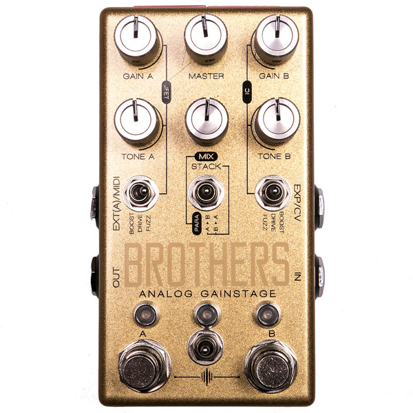 Chase Bliss Audio - Brothers - Analog Gainstage - Vintage Guitar Boutique
