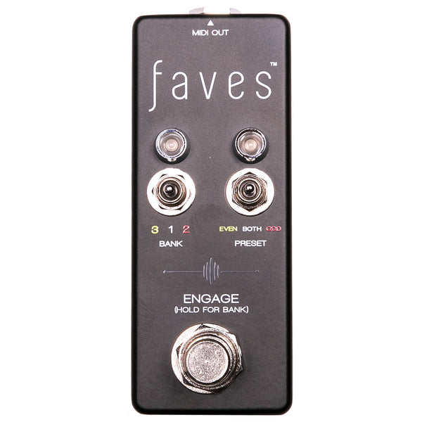 Chase Bliss Audio Faves MIDI Controller | Lucky Fret Music Co.